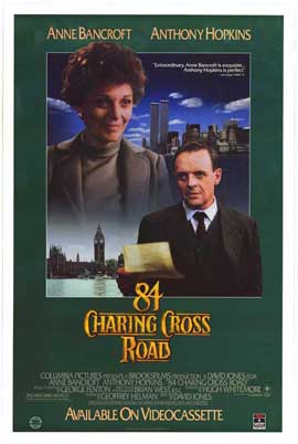 84 Charing Cross Road - 27 x 40 Movie Poster - Style B