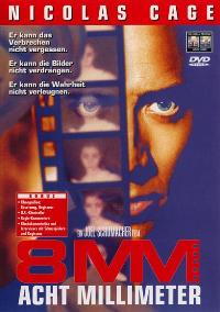 8mm - 11 x 17 Movie Poster - German Style A