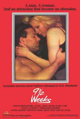 9 1/2 Weeks - 27 x 40 Movie Poster - Style C