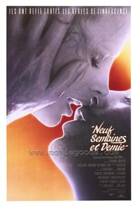 9 1/2 Weeks - 27 x 40 Movie Poster - French Style A