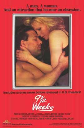 9 1/2 Weeks - 11 x 17 Movie Poster - Style C