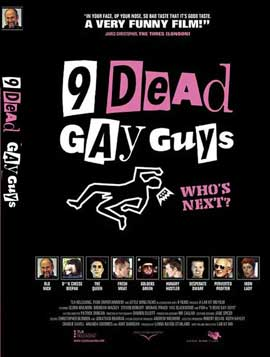 9 Dead Gay Guys - 11 x 17 Movie Poster - Style A