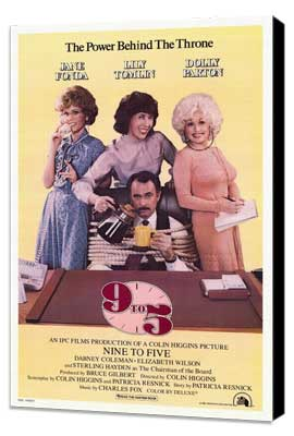 9 to 5 - 27 x 40 Movie Poster - Style A - Museum Wrapped Canvas