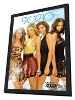 90210 (TV) - 11 x 17 TV Poster - Style M - in Deluxe Wood Frame