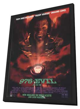 976-EVIL - 11 x 17 Movie Poster - Style B - in Deluxe Wood Frame