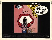 99 and 44/100% Dead - 22 x 28 Movie Poster - Half Sheet Style A