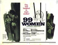 99 Women - 11 x 14 Movie Poster - Style A