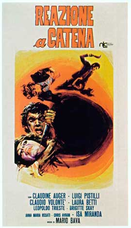 A Bay of Blood - 20 x 40 Movie Poster - Italian Style A