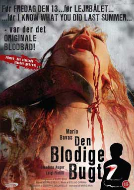 A Bay of Blood - 11 x 17 Movie Poster - Danish Style A