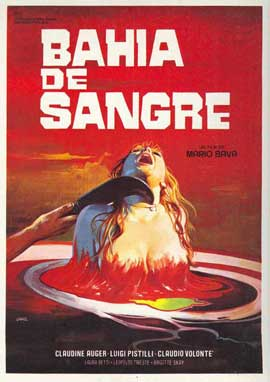 A Bay of Blood - 27 x 40 Movie Poster - Spanish Style A