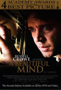 A Beautiful Mind - 27 x 40 Movie Poster - Style B