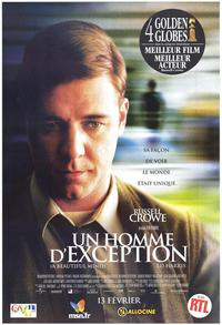 A Beautiful Mind - 30 x 40 Movie Poster - French Style A