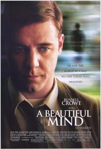 A Beautiful Mind - 43 x 62 Movie Poster - Bus Shelter Style A