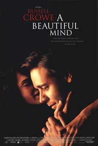 A Beautiful Mind - 43 x 62 Movie Poster - Bus Shelter Style B