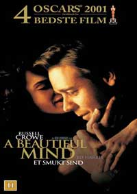 A Beautiful Mind - 11 x 17 Movie Poster - Danish Style A