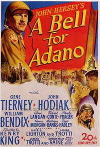 A Bell for Adano - 43 x 62 Movie Poster - Bus Shelter Style A