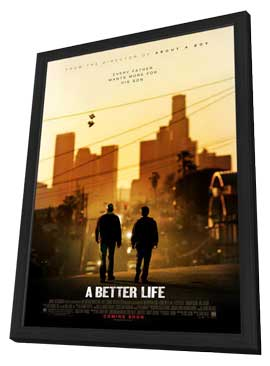 A Better Life - 11 x 17 Movie Poster - Style A - in Deluxe Wood Frame