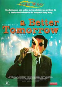 A Better Tomorrow - 11 x 17 Movie Poster - Spanish Style A