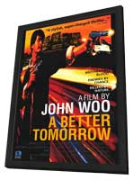 A Better Tomorrow - 11 x 17 Movie Poster - Style A - in Deluxe Wood Frame