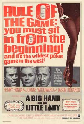 A Big Hand for the Little Lady - 11 x 17 Movie Poster - Style A
