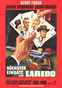 A Big Hand for the Little Lady - 11 x 17 Movie Poster - German Style A