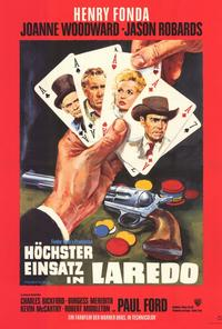 A Big Hand for the Little Lady - 27 x 40 Movie Poster - German Style A