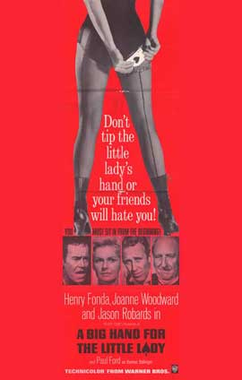 A Big Hand for the Little Lady - 11 x 17 Movie Poster - Style B