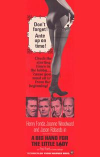 A Big Hand for the Little Lady - 11 x 17 Movie Poster - Style C