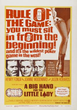 A Big Hand for the Little Lady - 11 x 17 Movie Poster - Style F
