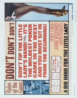 A Big Hand for the Little Lady - 22 x 28 Movie Poster - Half Sheet Style A