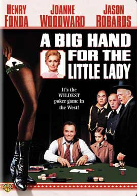 A Big Hand for the Little Lady - 11 x 17 Movie Poster - Style G