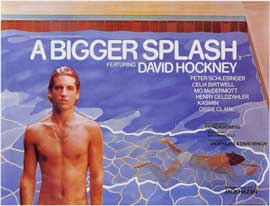 A Bigger Splash - 11 x 17 Poster - Foreign - Style A