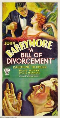 A Bill of Divorcement - 11 x 17 Movie Poster - Style B