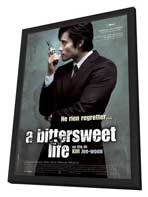 A Bittersweet Life - 27 x 40 Movie Poster - French Style A - in Deluxe Wood Frame