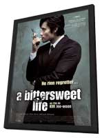 A Bittersweet Life - 11 x 17 Movie Poster - French Style A - in Deluxe Wood Frame