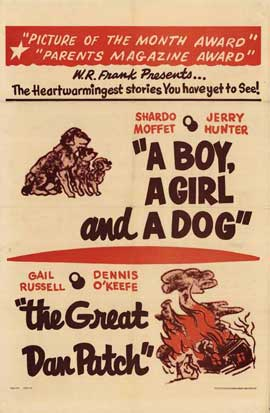 Boy, A Girl and a Dog - 11 x 17 Movie Poster - Style A