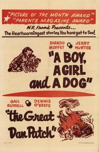 Boy, A Girl and a Dog - 27 x 40 Movie Poster - Style A