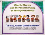 A Boy Named Charlie Brown - 30 x 40 Movie Poster UK - Style A