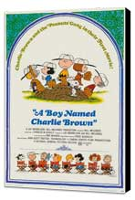 A Boy Named Charlie Brown - 11 x 17 Movie Poster - Style A - Museum Wrapped Canvas