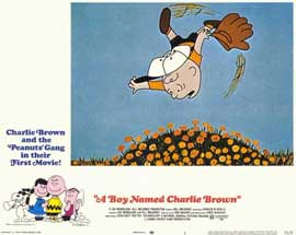 A Boy Named Charlie Brown - 11 x 14 Movie Poster - Style B