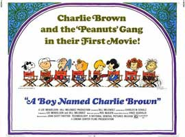 A Boy Named Charlie Brown - 11 x 14 Movie Poster - Style C