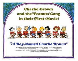 A Boy Named Charlie Brown - 22 x 28 Movie Poster - Half Sheet Style A