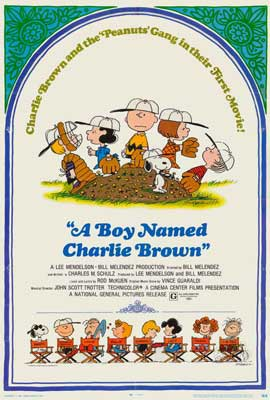 A Boy Named Charlie Brown - 27 x 40 Movie Poster - Style A