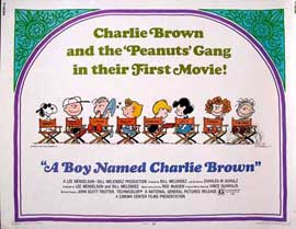 A Boy Named Charlie Brown - 11 x 17 Movie Poster - UK Style A