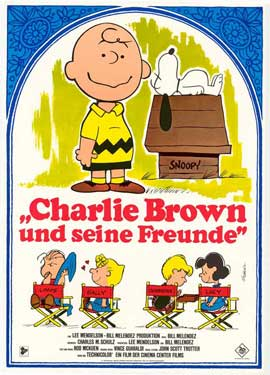 A Boy Named Charlie Brown - 11 x 17 Movie Poster - German Style B