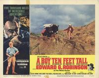 A Boy Ten Feet Tall - 11 x 14 Movie Poster - Style B