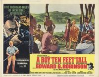 A Boy Ten Feet Tall - 11 x 14 Movie Poster - Style E