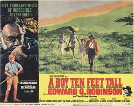 A Boy Ten Feet Tall - 11 x 14 Movie Poster - Style F