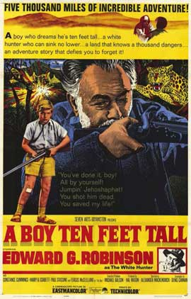 A Boy Ten Feet Tall - 11 x 17 Movie Poster - Style A