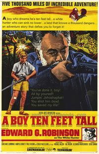A Boy Ten Feet Tall - 27 x 40 Movie Poster - Style A